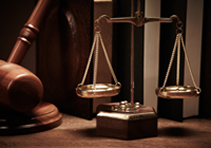 Scales of Justice and Gavel - Legal Services